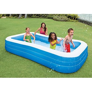 Intex Piscina gonflabila Swim Center Family 3 camere de aer