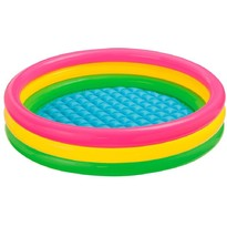 Piscina copii Sunset Glow Pool 3 inele 114 x 25 cm