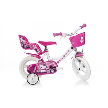 Dino Bikes Bicicleta copii Hello Kitty 124RL HK