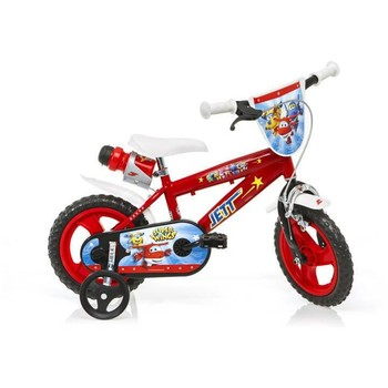 Dino Bikes Bicicleta copii Super Wings 412UL SW