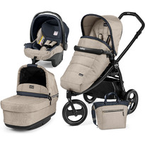 Peg Perego Carucior 3 in 1, Book Scout, Matt Black, Pop-Up Elite