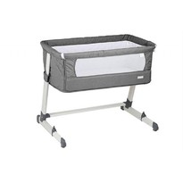 BabyGO Patut co-sleeper 2 in 1 together grey