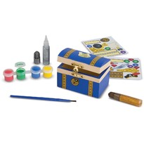 Melissa & Doug Set creatie Cufarul Piratilor