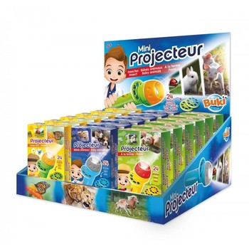 Buki France Mini proiector Baby Animale