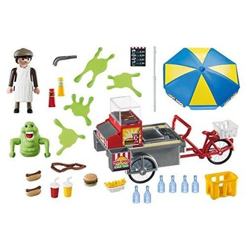 Playmobil Slimmer si stand de hot dog