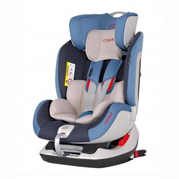 Coletto Scaun auto Vento cu Isofix si Top-Tether, Black 0-25 kg