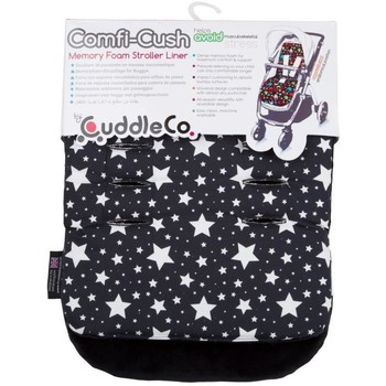 CuddleCo Saltea carucior Comfi-Cush Black and White Stars