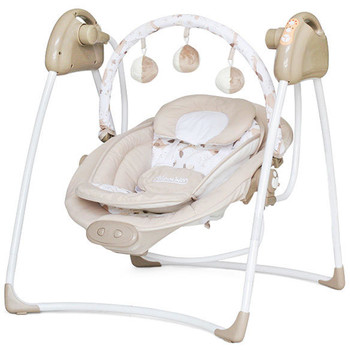 Chipolino Leagan electric si balansoar Paradise beige sheep
