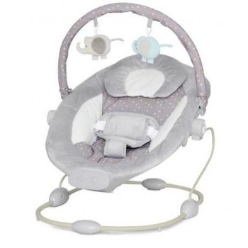 Baby Mix Balansoar muzical cu vibratii Grand Confort Grey Sensation