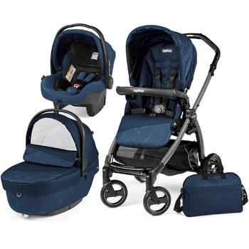 Peg Perego Carucior 3 in 1 Book Plus S Black Sportivo Geo
