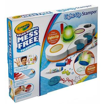 Crayola Set Stampile cu Lumini Color Wonder Light Up Stamper