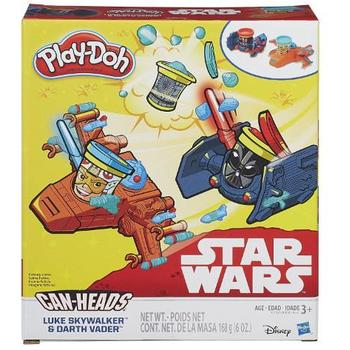 Hasbro Set Plastilina Play Doh Star Wars - Luke Skywalker vs Darth Vader
