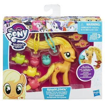Hasbro Figurina My Little Pony Coafuri de Gala - Applejack