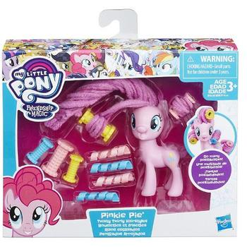 Hasbro Figurina My Little Pony Coafuri de Gala - Pinkie Pie