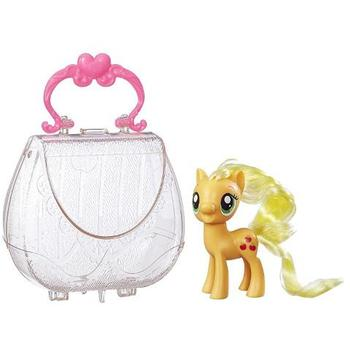Hasbro Figurina My Little Pony Applejack in Gentuta de Gala