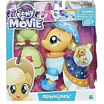 Hasbro Set My Little Pony The Movie - Figurina Applejack cu Accesorii