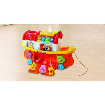VTech Toot-Toot Animals - Barcuta cu animale