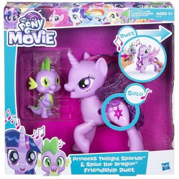 Hasbro My Little Pony - Twilight Sparkle si Spike