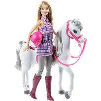 Mattel Papusa Barbie Cu Calut  - BRB Horse And Doll