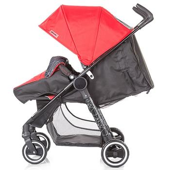 Chipolino Carucior Motto 2 in 1 red