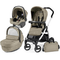 Peg Perego Carucior 3 in 1 Book Plus S Black and White Sportivo Geo