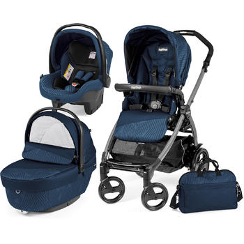 Peg Perego Carucior 3 in 1 Book Plus 51 Black Sportivo Geo