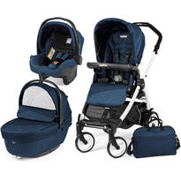 Peg Perego Carucior 3 in 1 Book Plus 51 Black and White Sportivo Geo