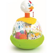 Jucarie interactiva Egg Spinner
