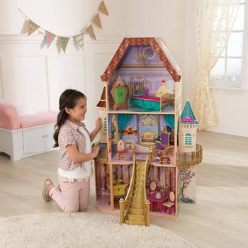 KidKraft Casuta pentru papusi Beauty and the Beast