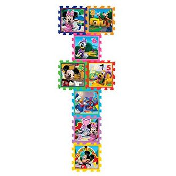 Knorrtoys Covor puzzle din spuma Sotron Minnie & Mickey Mouse 8 piese