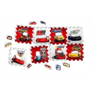 Knorrtoys Covor puzzle din spuma Cars 3 Race of a Lifetime 8 piese