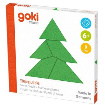 Goki IQ game din piatra Christmas Tree
