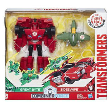 Hasbro Figurine Transformers Activator Combiner Great Byte si Sideswipe