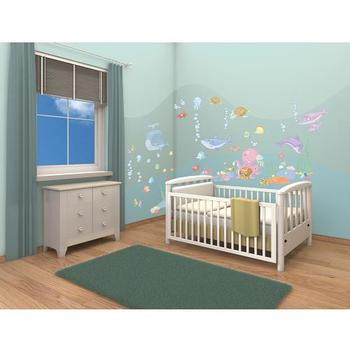 Walltastic Kit Decor Baby Under the Sea