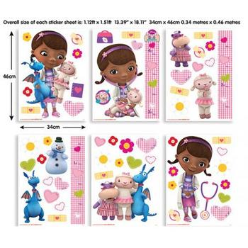 Walltastic Kit Decor Disney Doc McStuffins