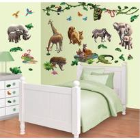 Walltastic Kit Decor Jungle Adventure