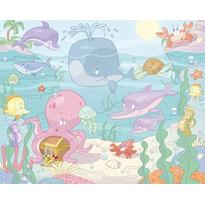 Walltastic Tapet pentru Copii Baby Under the Sea