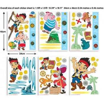 Walltastic Kit Decor Jake and the Neverland Pirates