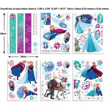 Walltastic Kit Decor Disney Frozen 2016