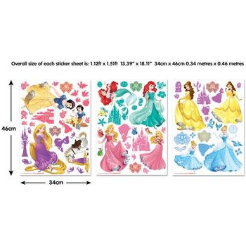 Walltastic Kit Decor Sticker Printesele Disney