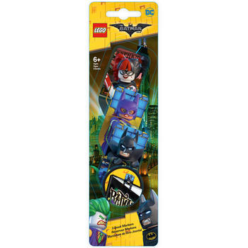 LEGO ® Set 3 semne de carte LEGO Batman Movie - varianta 1