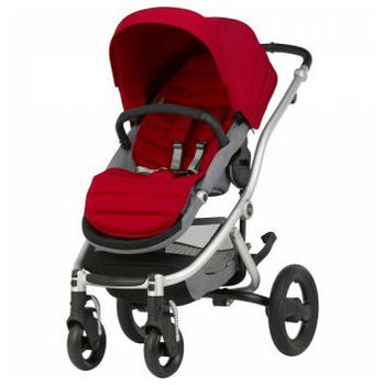 Britax-Romer Carucior Affinity II Silver - Flame Red