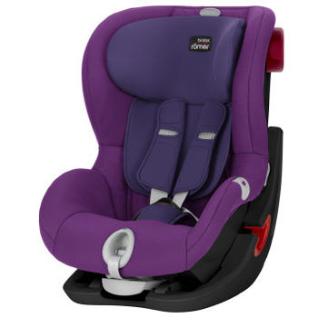 Britax-Romer Scaun auto King II LS Black Series Mineral purple