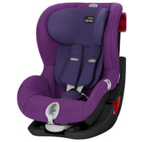 Scaun auto King II LS Black Series Mineral purple