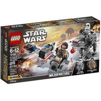 LEGO ® Ski Speeder contra Walker al Ordinului Intai Microfighters