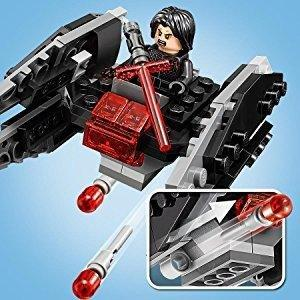 LEGO ® A-Wing contra TIE Silencer Microfighters