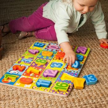 Tooky Toy Puzzle numere