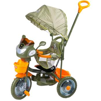 DHS Baby Tricicleta JollyRide Verde