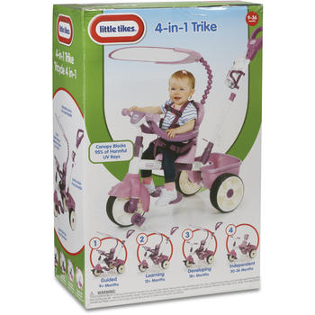 Little Tikes Tricicleta 4in1 Roz