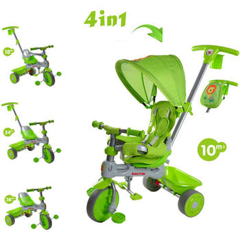 Baby Trike Tricicleta 4 in 1 Lion Green